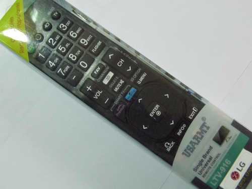 control universal para lg,  tv normal y smart