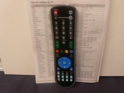 control  universal tv deco cnt sagecom/  esi88-00/hd-satelit