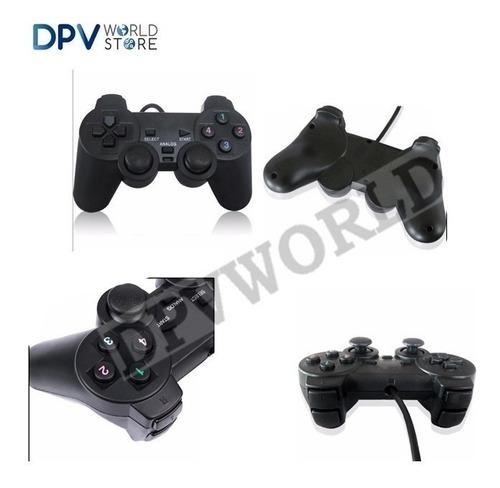 control usb alambrico para pc joystick 16 botones