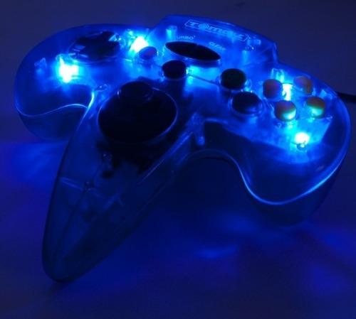 control usb nintendo 64 n64 con luces tomee antes $98.000