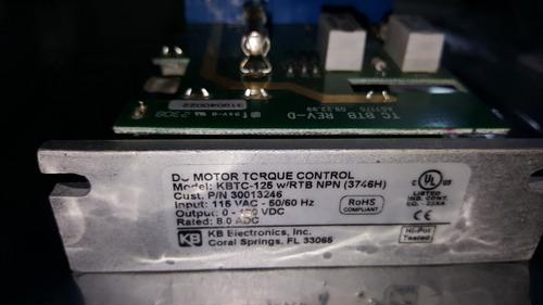 control velocidad de torque control kbtc125 power industrial