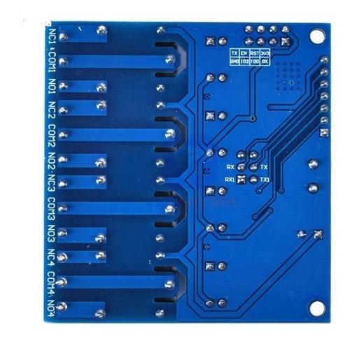 control wifi 4 relay iot domotica  arduino raspberry