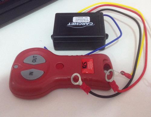 control winche huinche 12 y 24 volts / 3 y 5 pin