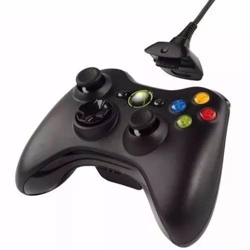 control x box 360 inalambrico + carga y juega promocion
