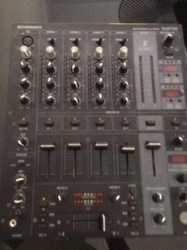 control x1 ,  placa áudio 8 , mixer djx 750 + case.