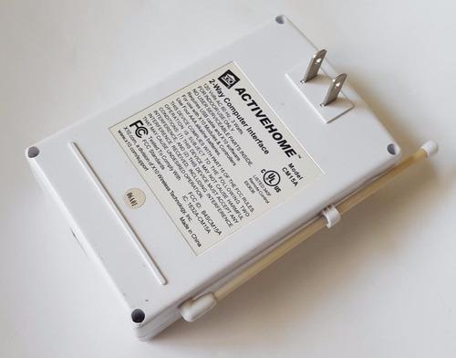 control  x10 inlambrico conecion usb programable x computado
