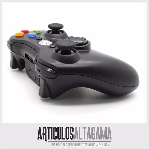 control xbox 360 inalambrico