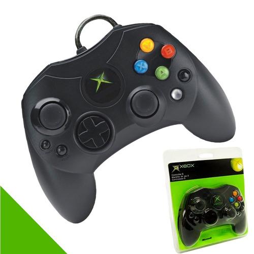 control xbox consola clásica nuevo genérico negro