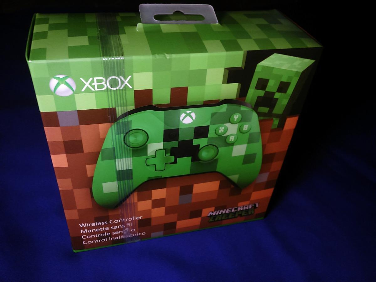 2c34c12ad7764 Control Xbox One Edicion Especial Minecraft Creeper -   1