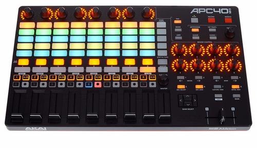 controlador akai apc40 mk2 - revenda autorizada