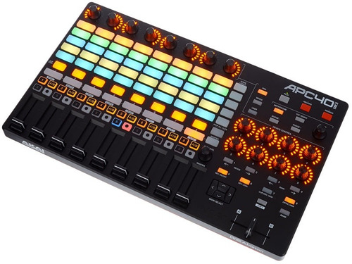controlador akai profesional dj apc40 mkii drum machine