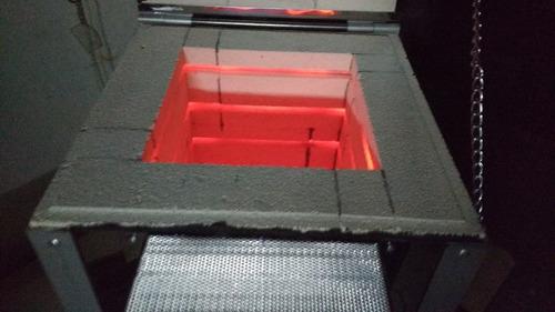 controlador con rampa horno gres ceramica vidrio metales