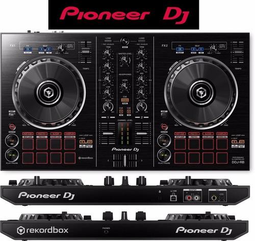controlador consola dj pioneer ddj rb 2 canales portable