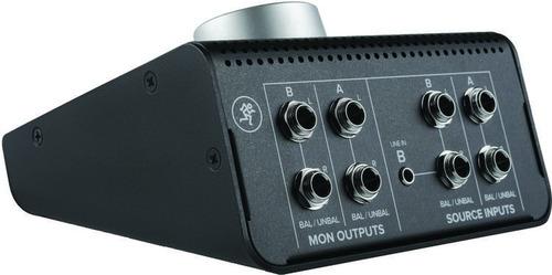 controlador de audio mackie para monitores bigknob