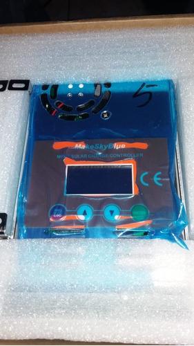 controlador de carga 60amp, 12-24-36-48 make sky blue mppt
