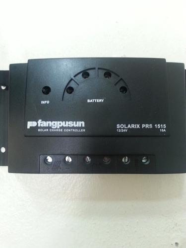controlador de carga de 15 amp