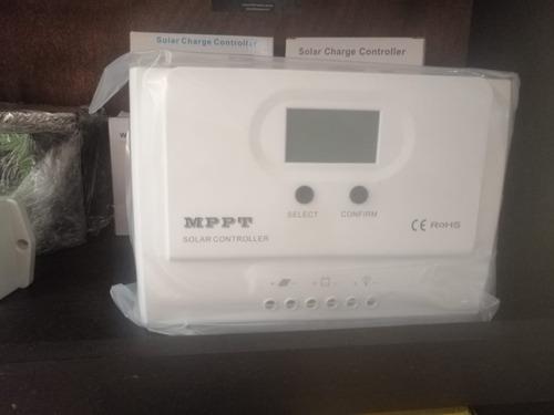 controlador de carga mppt 12/24 50ah 150v de entrada