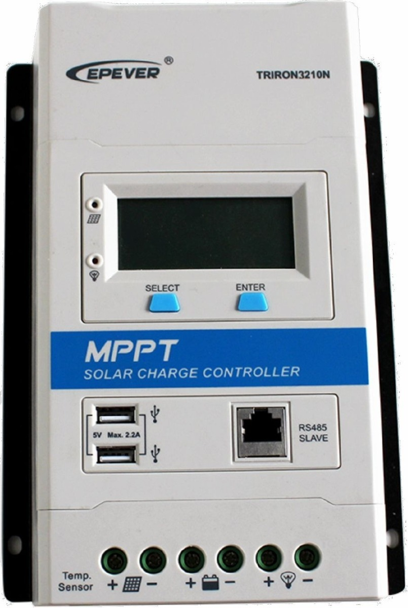 Controlador De Carga Mppt 30a - Triron3210n - Epever