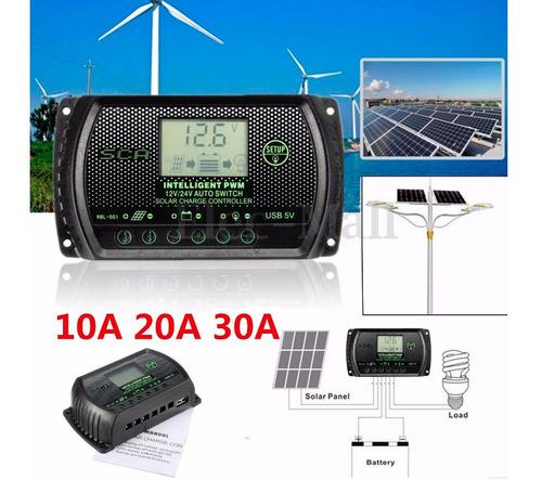 controlador de carga panel solar