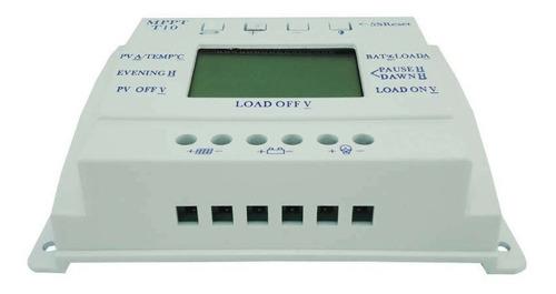 controlador de carga solar para bateria mppt 10a