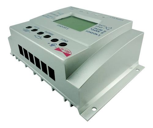controlador de carga solar para bateria mppt 60a
