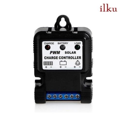controlador de carga solar pwm 10a / ilku