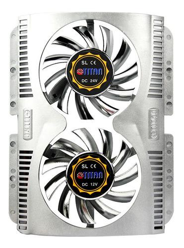 controlador de fan cooler nzxt + 4 ventiladores hdd titan