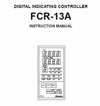 controlador de indicação digital shinka modelo (fcr-13a)