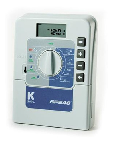controlador de irrigacao k-rain rps46 6 estacao 220v timer