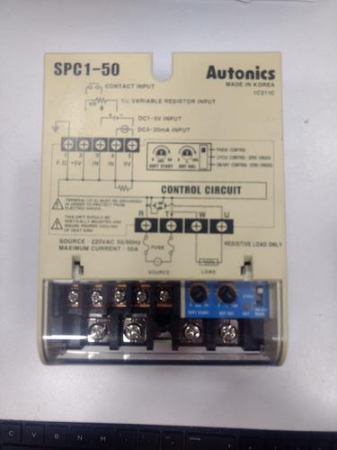 controlador de potencia spc1 - 50 e