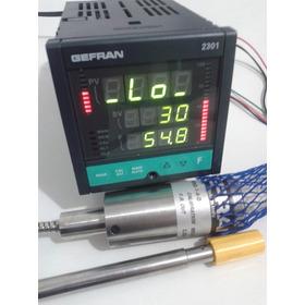 Controlador De Pressao Gefran 2301  + Sensor Pressão 350bar