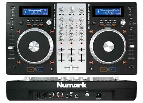 controlador de sonido para dj´s - numark mixdeck - 2 canales