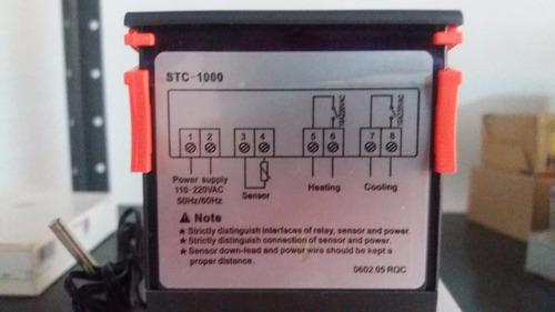 controlador de temperatura cava cuarto
