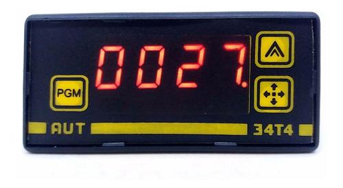 controlador de temperatura digital de 4 dígitos (até 1250ºc)