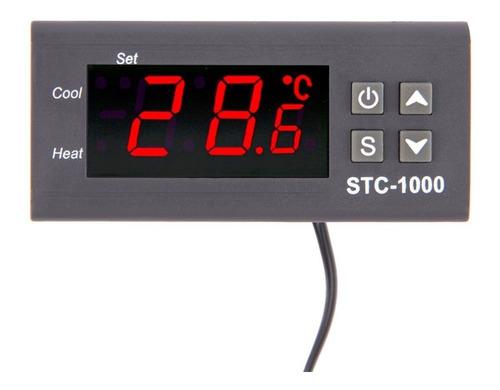 controlador de temperatura digital stc1000 bi-volt + sensor