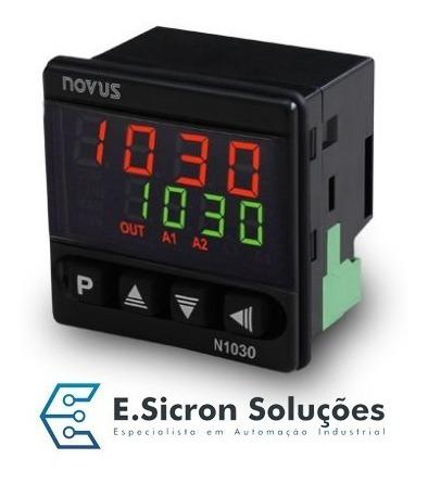 controlador de temperatura novus n1030
