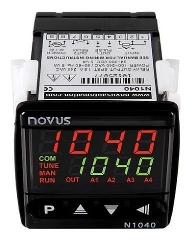 controlador de temperatura novus  - n1040