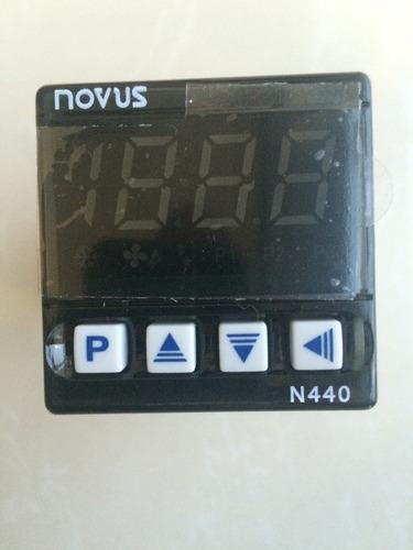 controlador de temperatura novus n440-kpr para termopar k