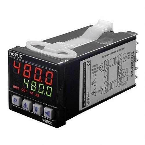 controlador de temperatura novus n480d-rp usb