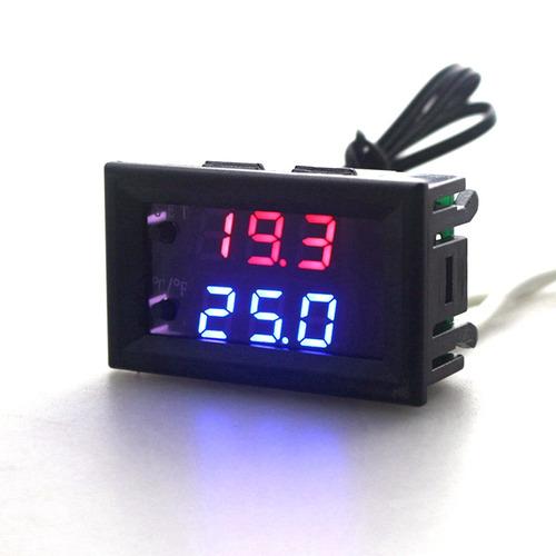 controlador de temperatura sensor 12volt pronta entrega
