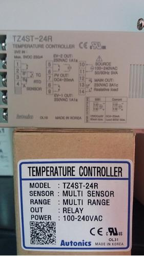 controlador de temperatura tz4st-24r autonics