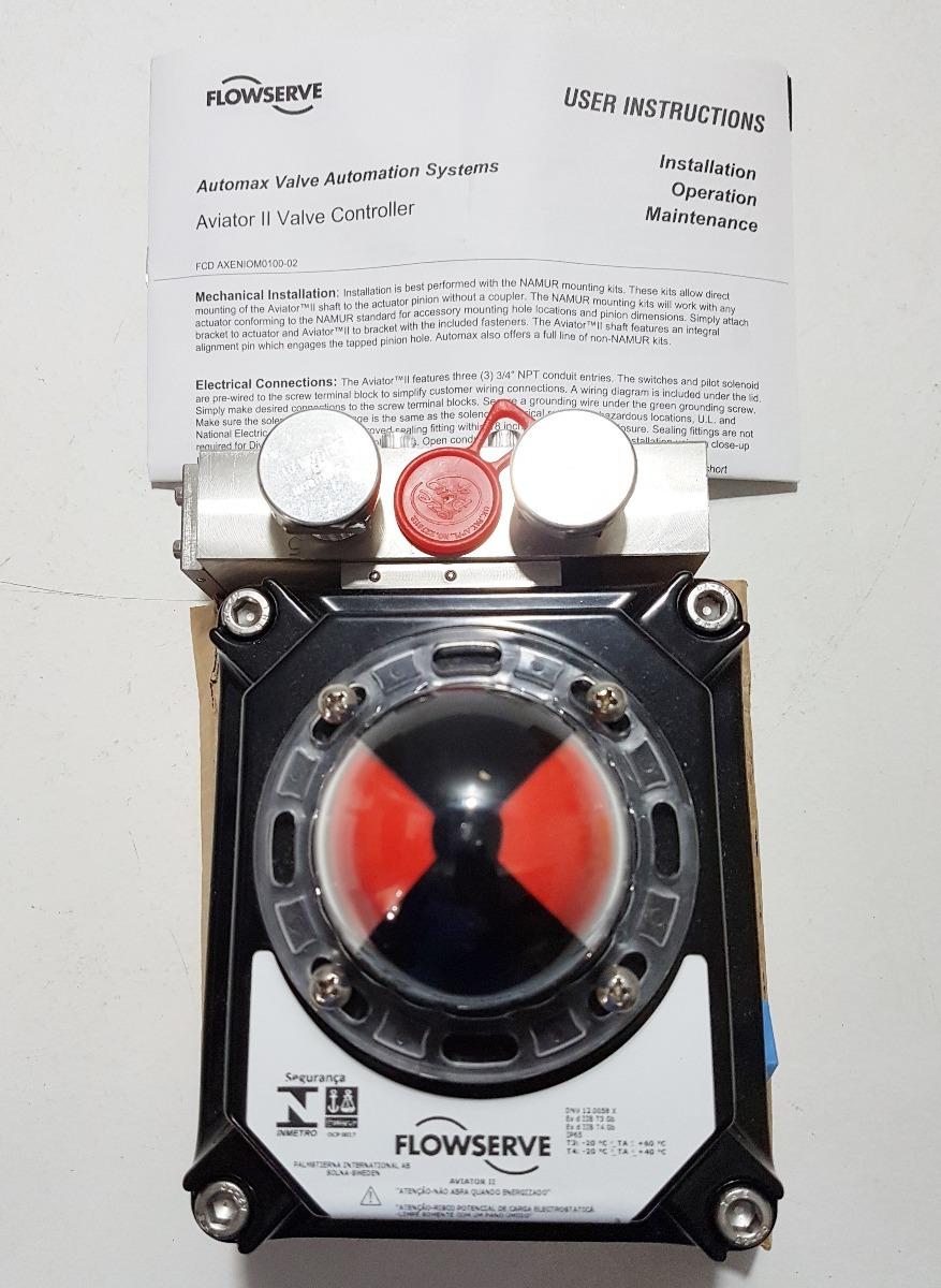 Controlador De Vlvula Aviator Ii Flowserve Automax R 250000 Em Wiring Diagram Carregando Zoom