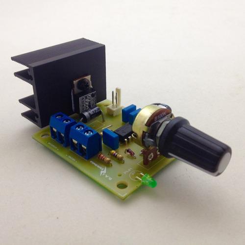 controlador de velocidade motor 12v 20a (pwm) 0 a 100%