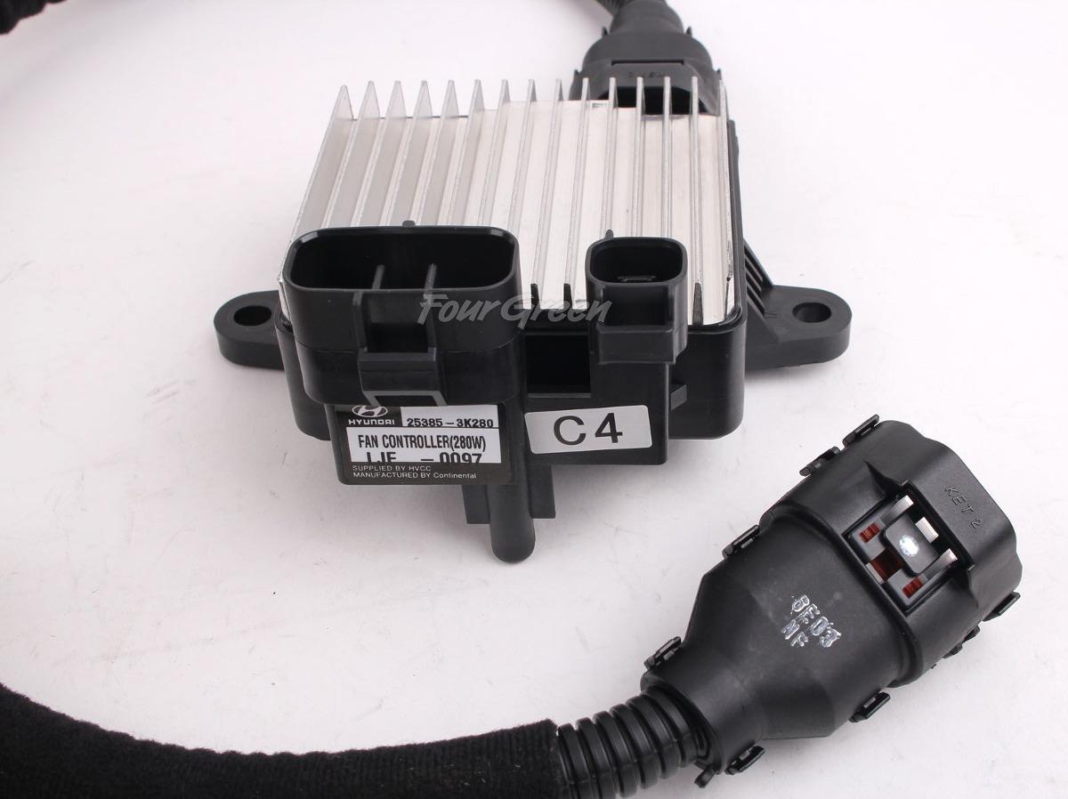 253853K280 GENUINE Cooling Fan Controller PWM for Hyundai 06-08 Azera Sonata