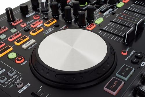 controlador denon mc6000 mk 2 mixer de 4 canales consola dj