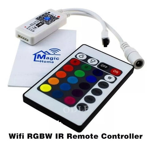 controlador digital magic home wi-fi rgb android ios google
