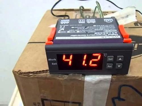 controlador digital temperatura termostato cerveja aquário