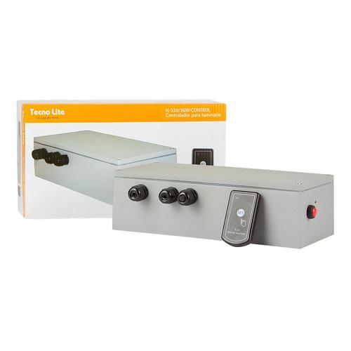 controlador dimmer para lamparas h-520 36w gris tecnolite