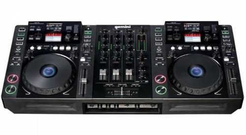 controlador dj cdmp 7000  geminis, mezcla videos