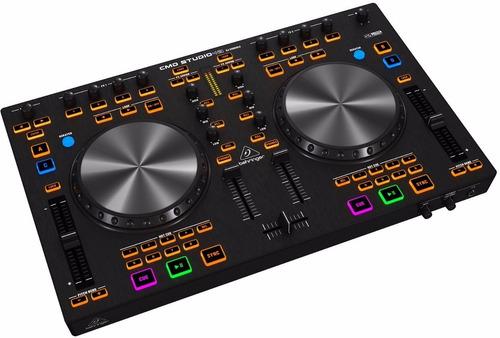 controlador dj cmd-studio 4a behringer usb 4 canales nuevos